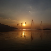 Dal lake Sunset